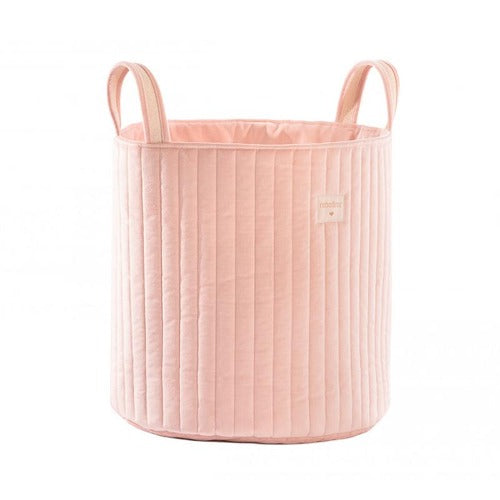 Nobodinoz Toy Bag Savanna Velvet Bloom Pink