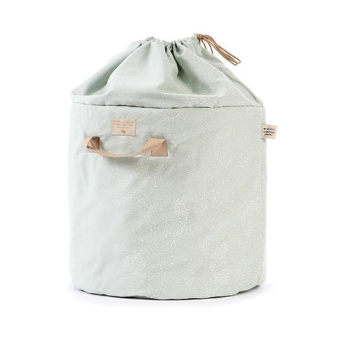 Nobodinoz Toy Bag White Bubble/Aqua
