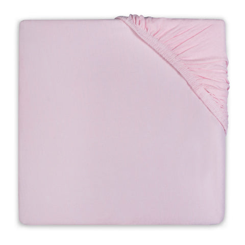 Fitted sheet Cotton 75x150 cm Vintage Pink