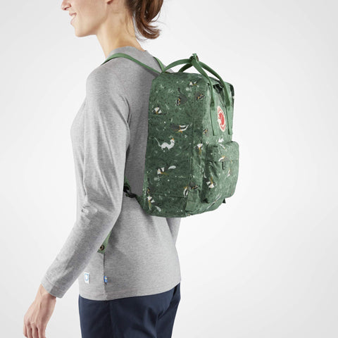 64d3a7db98f Backpack Fjallraven Kanken Art Green Fable – Deer Industries