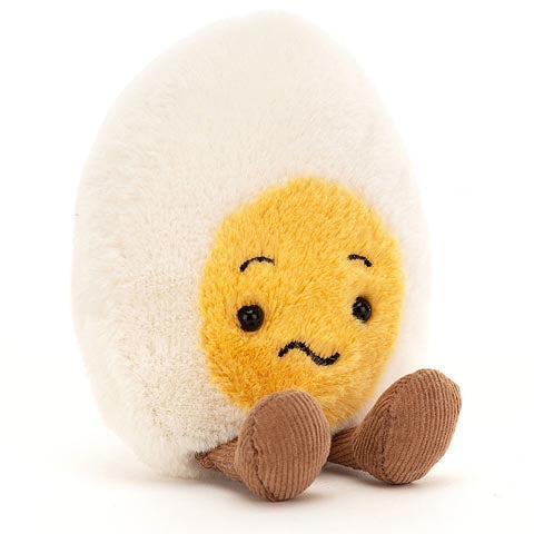 Jellycat Soft Toy Amuseable Boiled Egg Confused