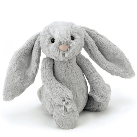 Jellycat Soft Toy Bashful Bunny Silver