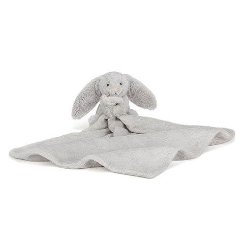 Bashful Bunny Soother Silver