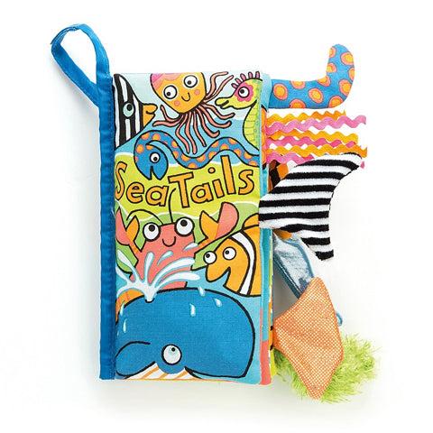 Jellycat Soft Book Sea Tails