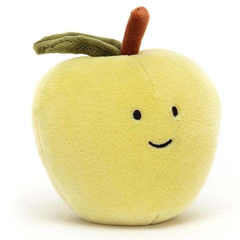 Jellycat Soft Toy Fabulous Fruit Apple