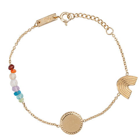 Bracelet Rainbow Gold Plated