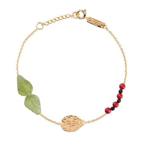 Bracelet Lady Bug Gold Plated