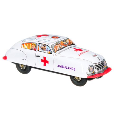 Tin Car Ambulance
