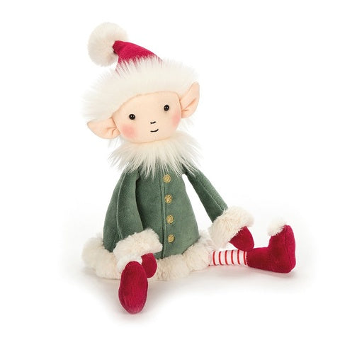 Jellycat Soft Toy Leffy Elf