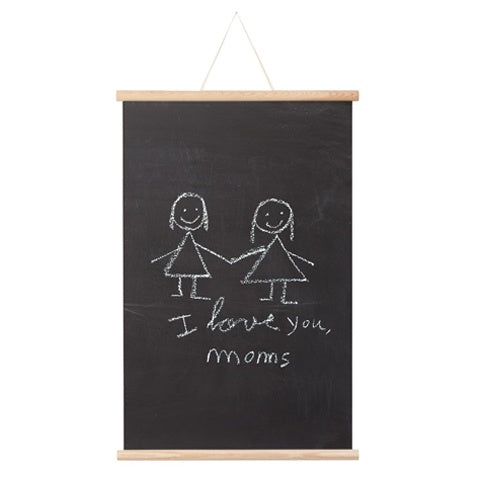 Magnetic Chalk Board Poster