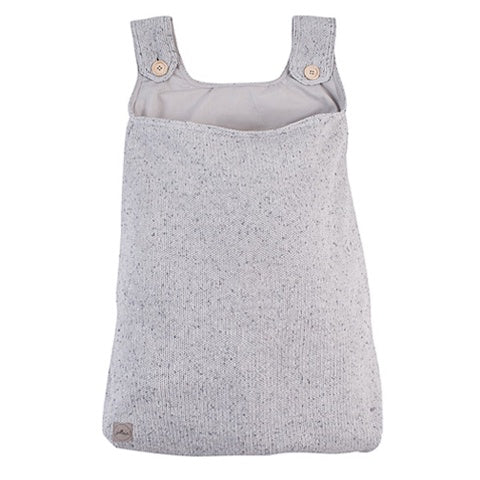 Storage Bag Confetti Knit Grey