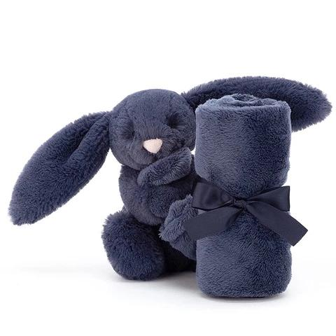 Jellycat Soother Bashful Bunny Navy