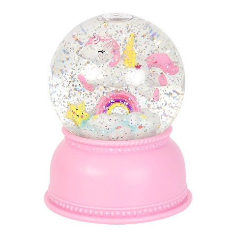 Snow Globe Light Unicorn