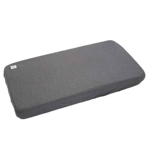 Lodger Fitted Sheet Cot(bed) Solid Carbon