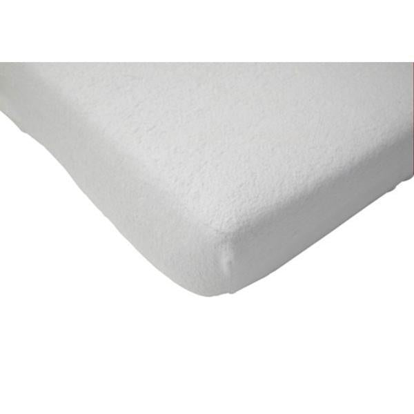 Jollein Fitted Sheet Jersey 70x140 White