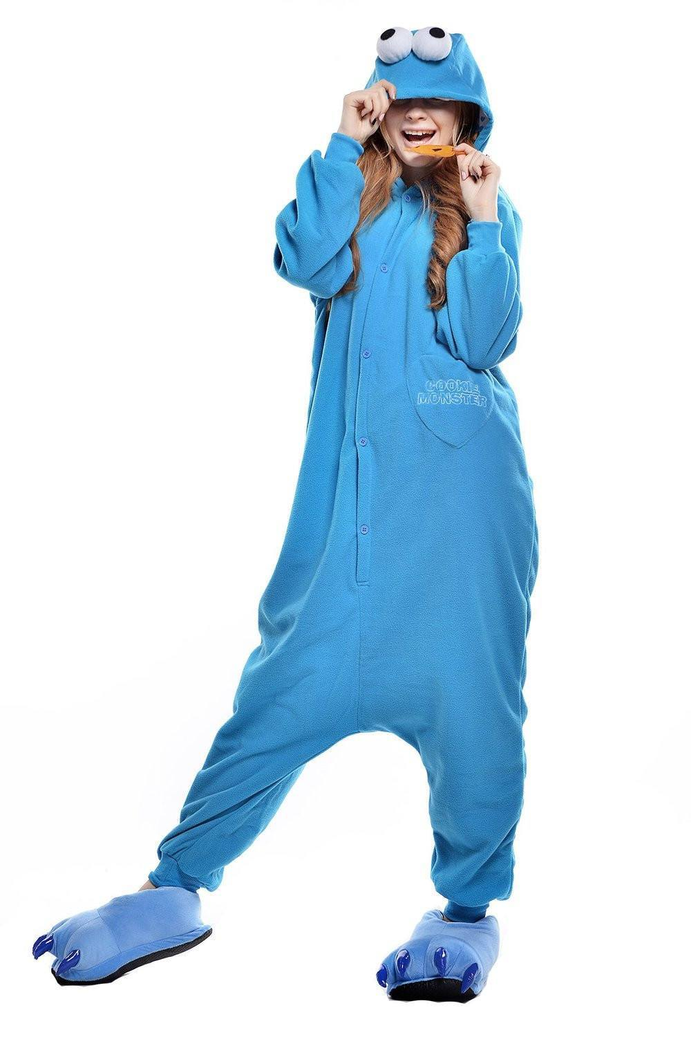Cookie Monster - Onesie - pysjn