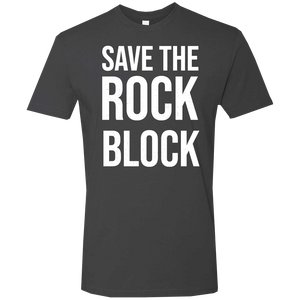 Save The Rock Block Tee