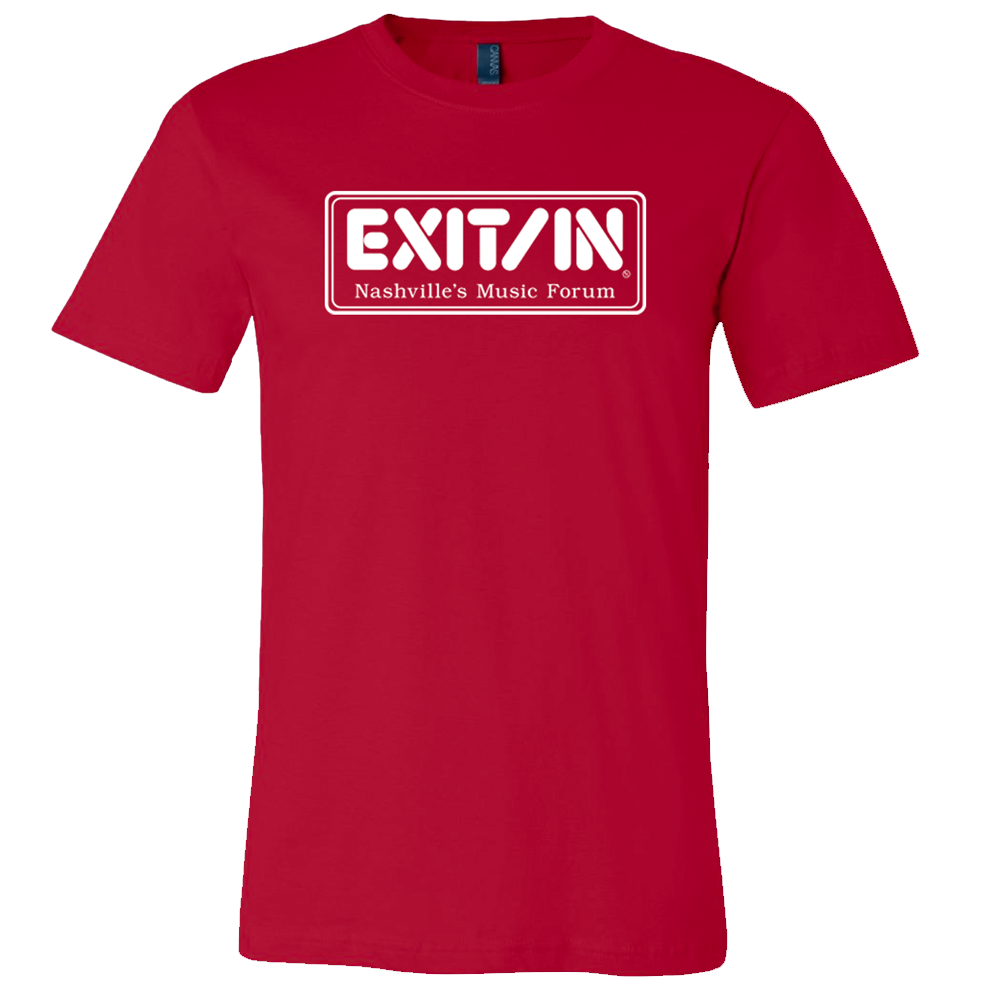 Red Exit/In Logo T-Shirt