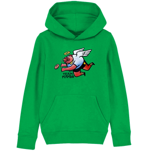 Football Style of the Brown Trout Kids' Hoodie