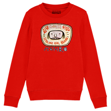 Load image into Gallery viewer, Smiling Girl Kids' Sweatshirt