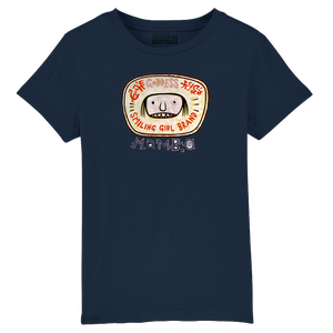 Smiling Girl Kids' T-Shirt