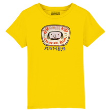 Load image into Gallery viewer, Smiling Girl Kids' T-Shirt