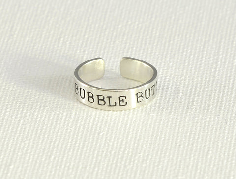 Bubble Butt Sterling Silver Toe Ring, NiciArt