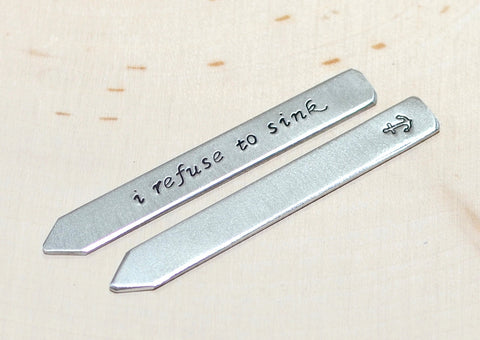 I refuse to sink collar stays with anchor in aluminum, NiciArt