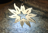 Sterling silver sun necklace, NiciArt