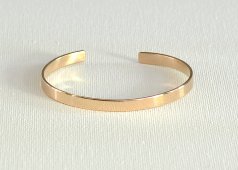 Dainty Morse Code Bracelet in Bronze for you to Personalize with your own encoded Message
