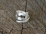 Sterling Silver Guitar Wrap Ring for Musical Inspiration, NiciArt