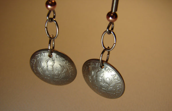 Double Dime Dangle Earrings