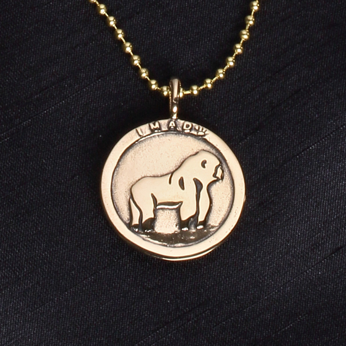 Cross River Gorilla Necklace
