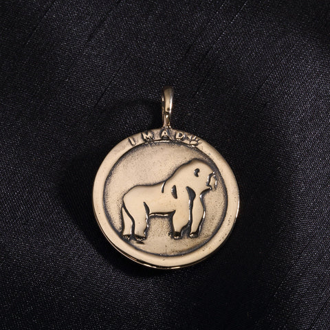 Cross River Gorilla Pendant