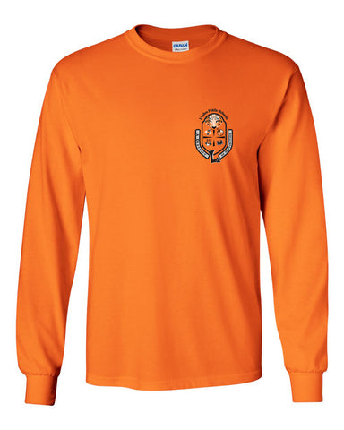 "Youth Long Sleeve ""Crest"" Logo T-Shirt"