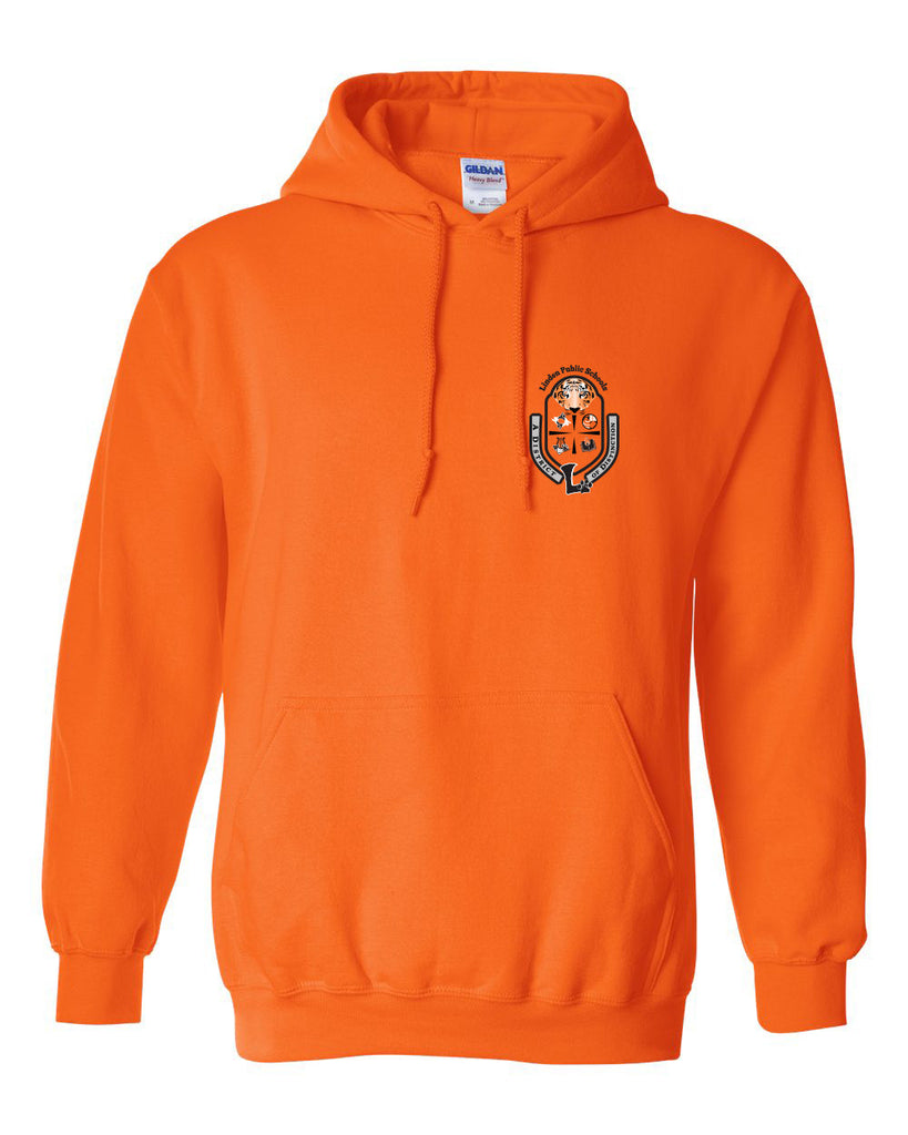 "Adult Pullover ""Crest"" Logo Hoodie"