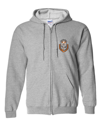"Youth Full-Zip ""Crest"" Logo Hoodie"