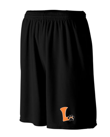 "Youth Mesh Shorts ""L"" Logo"