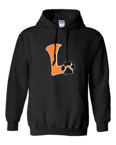 "Adult Pullover Logo Hoodie ""L"" Logo"