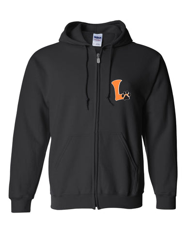 "Youth Full Zip Logo Hoodie ""L"" Logo"