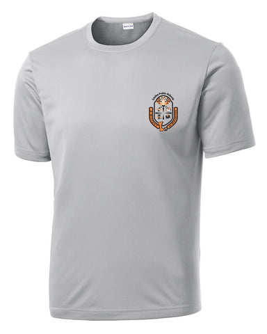 "Adult Short Sleeve ""Crest"" Logo Wicking Short Sleeve"