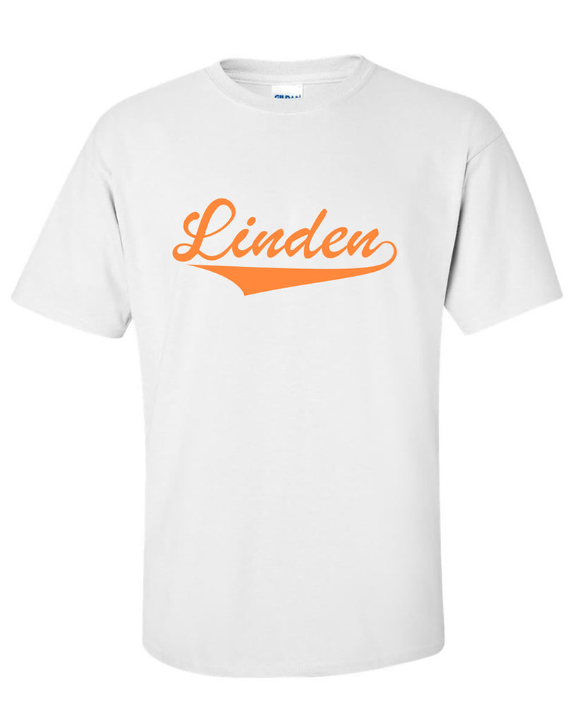 "Adult Short Sleeve ""Linden with Tail"" Logo T-Shirt"