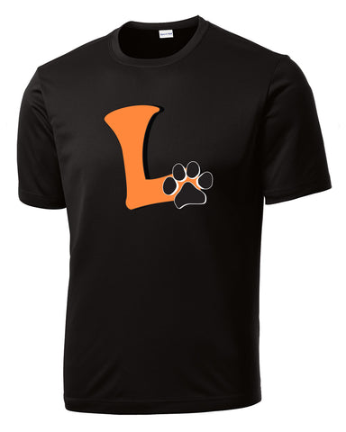 "Adult Short Sleeve ""L"" Logo Wicking Short Sleeve"