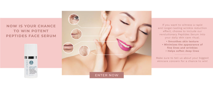Now Is Your Chance To Win <br> Potent Peptides Face Serum