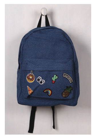 California Denim Backpack