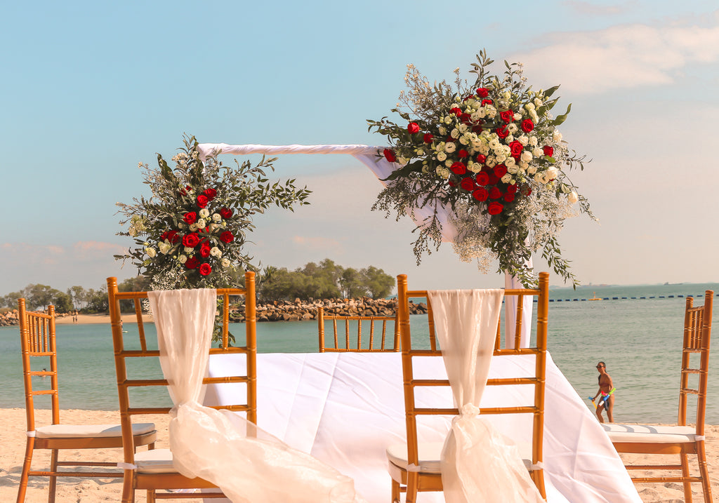 The Romantic Wedding by the Beach - Wai Chee & Dawn