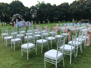 Tiffany Chairs and Chiavari Chairs
