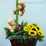 Flower Basket 06