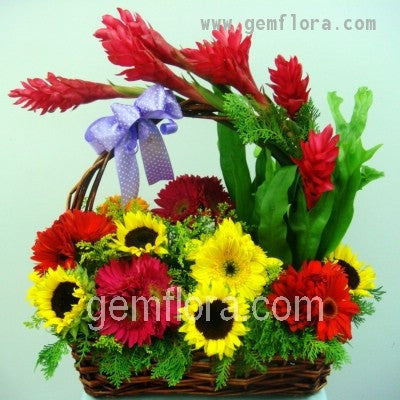Flower Basket 07
