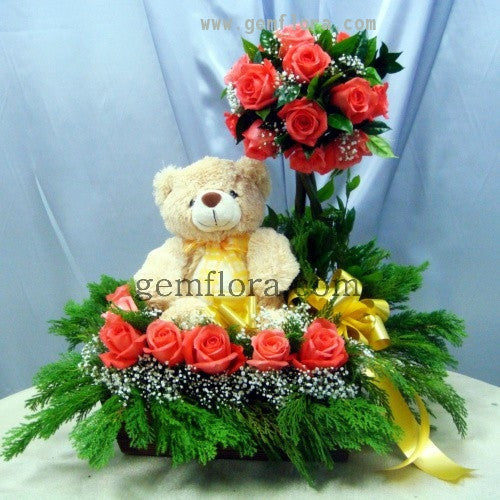 Flower Basket 08